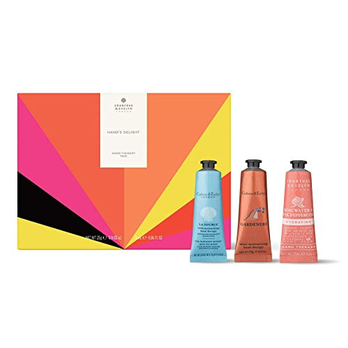 Crabtree & Evelyn Hands Delight Hand Therapy Trio Kit