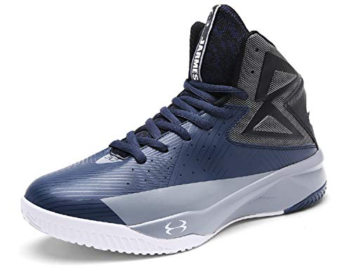 SINOES Mens Basketball Hi Top Ankle Trainers Boots Get Fit Mesh Running Sports Shoes