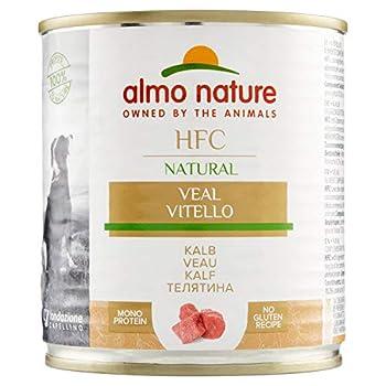 almo nature HFC Naturel Le Veau–mouillé Nourriture pour Chien (Lot de 12x 280g Boîtes)