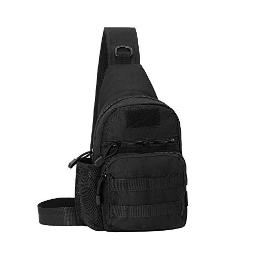 Armiya Men's Tactical Sling Bag, Small Shoulder Chest Molle...
