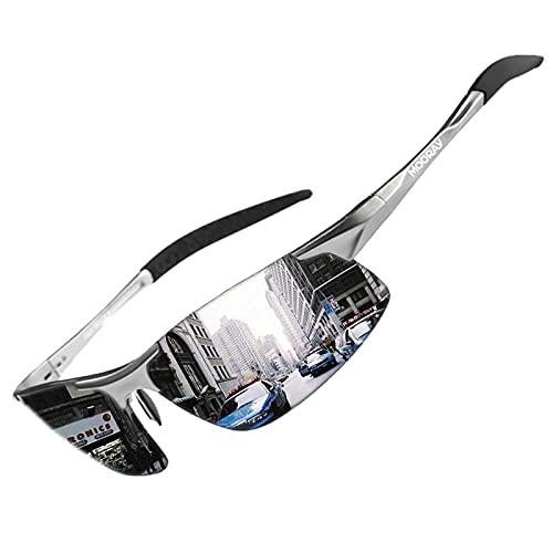 MOORAY Mens Sports Polarized Sunglasses UV...