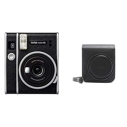 FUJIFILM インスタントカメラ チェキ instax mini 40 INS MINI 40+専用ケースセット