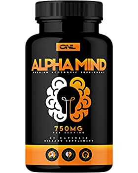 Alpha Mind Premium Nootropic Brain Booster Supplement - Enhance Focus Boost Concentration Improve Memory & Reduce Anxiety - Mental Enhancement Pills for Neuro Energy & IQ - 1 Month Supply
