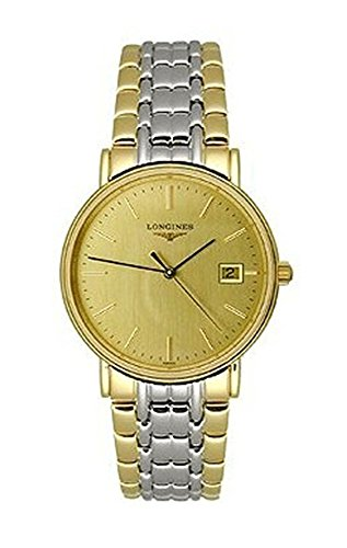 Longines la grande Classique bicolore mens orologio L47202327