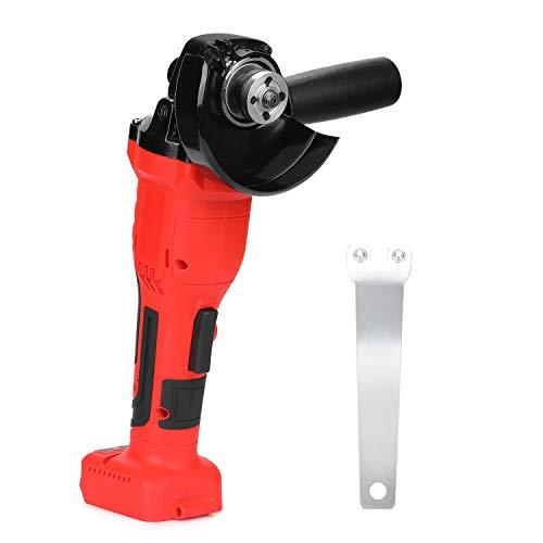 KKmoon Amoladora Angular 780W Sin Escobillas Herramienta de 125 mm Pulidora de Máquina de Corte de Herramienta Eléctrica DIY de Velocidad Variable(sin batería)