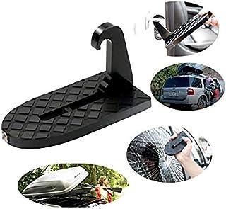 DYG Enganchado vehículo Multifuncional Escalera Plegable en Forma de U pestillo de Cerradura, fácil Acceso a la azotea del Coche baca con Martillo de la Seguridad para el Coche SUV Jeep: Amazon.es: