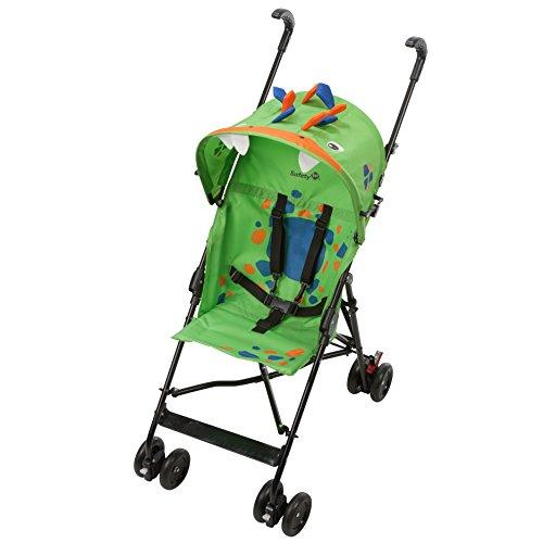 Safety 1st Crazy Peps Silla Paseo ligera, capota con diseño divertito, Plegable y compacta, Pesa 4,6 kg, Spike