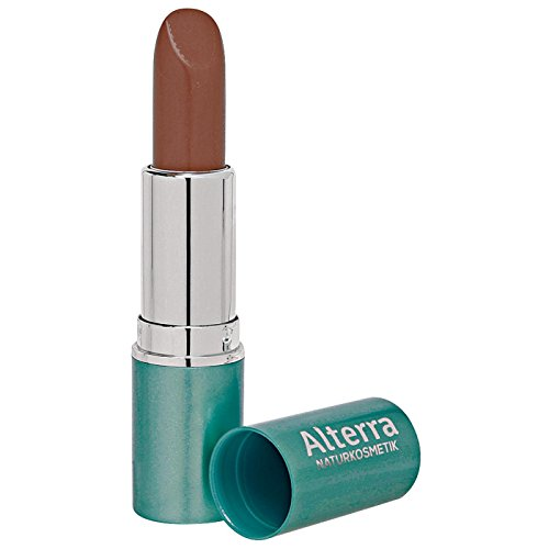 Alterra Lippenstift 1 Stück Farbe 06: Terra, zertifizierte Naturkosmetik