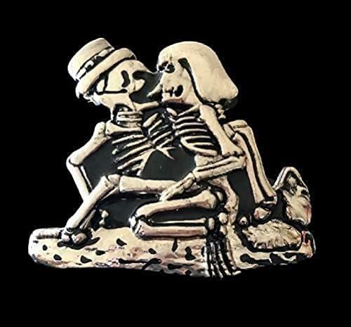 Miami Mall Financial sales sale Skeletons Skull Bone Evil Buckles Belt Buckle Belts