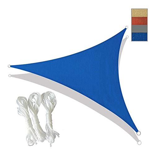 DGDG Myan parasol parasol parasol parasol anti-UV vela para exterior jardín, patio, piscina, playa, camping, toldo, protección solar HDPE