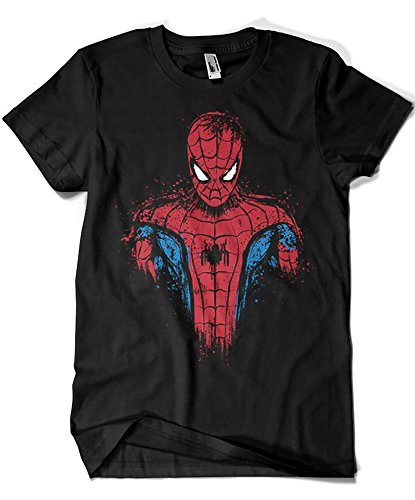 Camisetas La Colmena 2016-Parodia Spiderman - Web Warrior (D