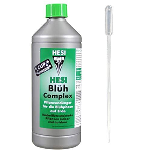 Hesi Blüh-Complex 1-Liter mit Pipette 3-ml komplex Dünger Beschleuniger für die Blüte-Phase
