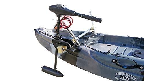 BKC Brooklyn Kayak Company UH-TM315 Kayak Trolling Motor Mount - Ambidextrous Trolling Motor Mount for Quick and Easy Kayak Trolling Motor Setup
