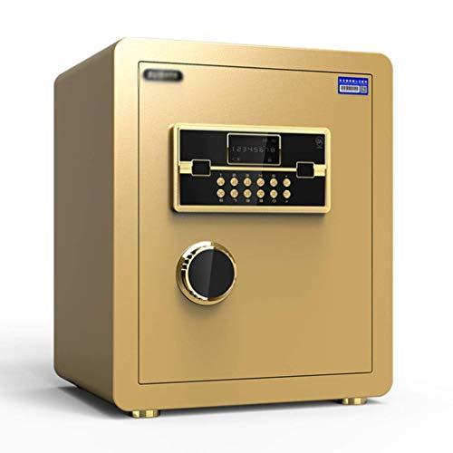 qazxsw Caja Fuerte electrónica para el hogar con contraseña de Oficina Mediana Caja Fuerte Invisible Caja Fuerte con Alarma