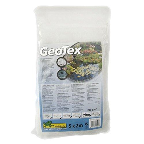 Feutre géotextile de protection blanc 5 x 2 m 200 g/m² Ubbink 1331960