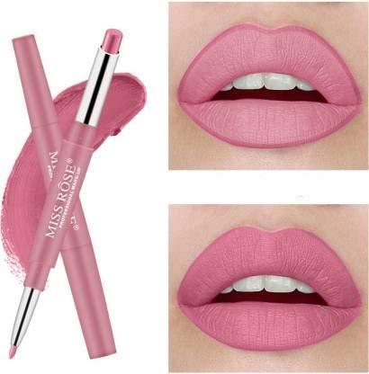 Miss Rose professional make-up High Pigment lipstick 2in1 lipliner (lipstick lipliner 2in1)-Show girl 01