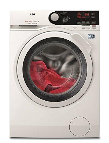 AEG L7FBE941 Libera installazione Carica frontale 9kg 1400Giri/min A+++-30% Bianco lavatrice