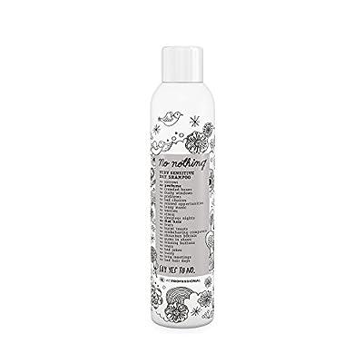 No nothing Very Sensitive Dry Shampoo - Fragrance Free Dry Shampoo, 100% Vegan, Hypoallergenic, Unscented, Gluten Free, Soy Free, 6.76 oz