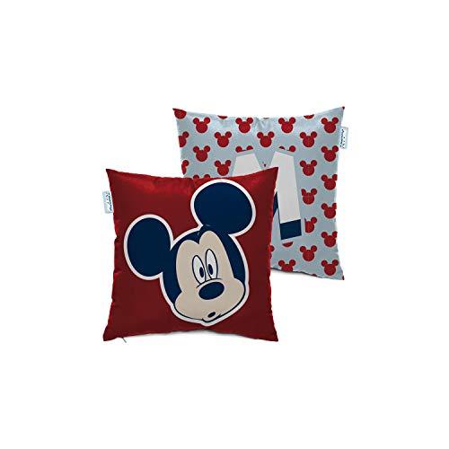 ARDITEX WD13248 Cojín de 40x40cm de Disney-Mickey