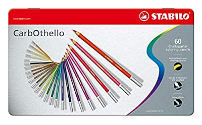 Stabilo CarbOthello Chalk-Pastel Colored Pencil, 4.4 mm Set