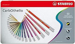 STABILO CarbOthello Pastel Pencil Set - Pack of 60 (Multicolour)