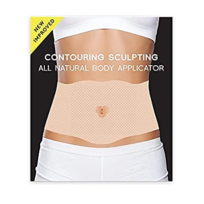 All Natural Contouring Body Applicator Tummy Slimming Wrap for Definition – Easy to Use Body Applicator Wrap – by Shape and Tone (6 WRAPS) by Medactiveusa