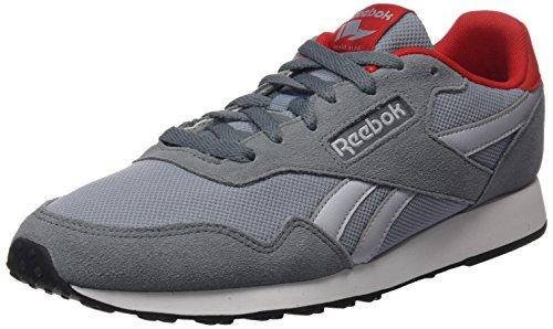 Reebok Herren Royal Ultra Sneaker, Grau Asteroid Dust Meteor Grey Cloud Grey Red White Black, 45.5 EU