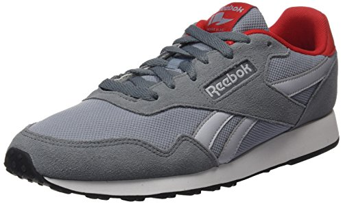 Reebok Herren Royal Ultra Sneaker, Grau Asteroid Dust Meteor Grey Cloud Grey Red White Black, 45.5 EU