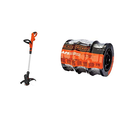 Buy Discount BLACK+DECKER String Trimmer/Edger with Trimmer Line, 30-Foot, 0.065-Inch, 3-Pack (ST860...