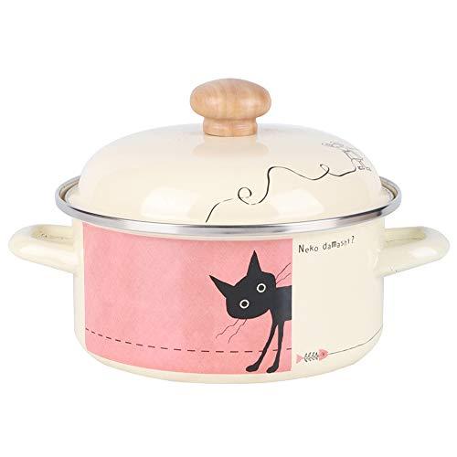 SCSBJ Voor-Seasoned Porselein Emaille Oven Casserole Dish Onverteerbaar Geschikt voor gebruik op inductie Keramische Elektrische en Gas Kookplaten Evenals in de Oven