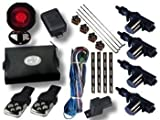 Remote Central locking Car Alarm And Immobilser Complete Kit Latest Advanced Model