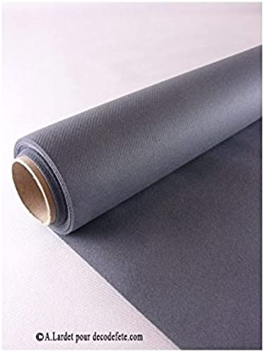mejor opcion CGMP 25m mantel desechable Presto gris antracita antracita antracita  el mas reciente