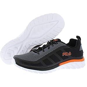 Fila Memory Dizkize 2 Men's Running 11 D(M) US Grey-Black-Tango