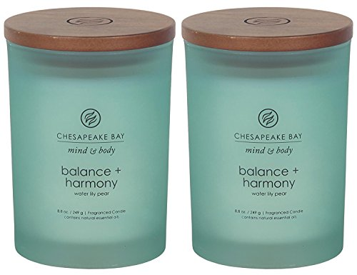 Chesapeake Bay Candle Scented Candles, Balance + Harmony...