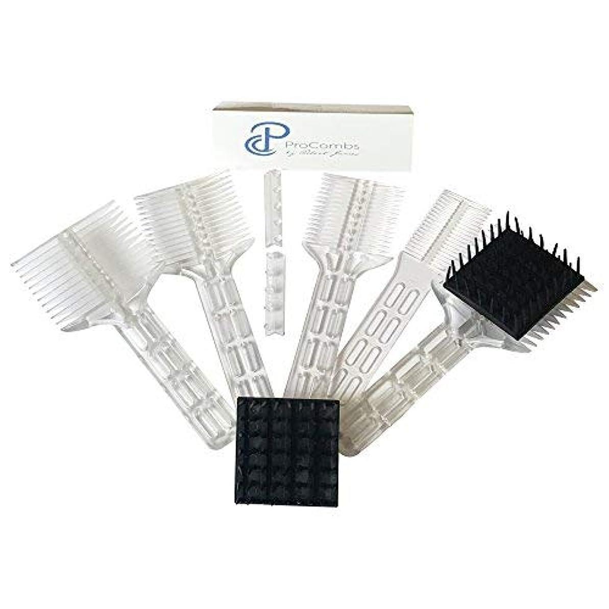 寛大さオプションカプラーScissor/Clipper Over Comb Tool For The Perfect Haircut [並行輸入品]