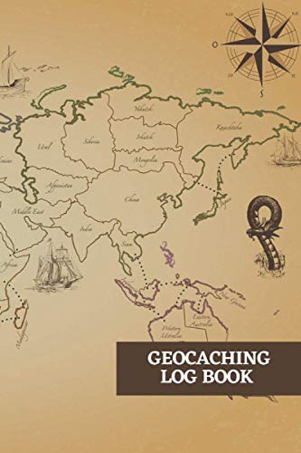 Geocaching Log Book: Specialist Log Book of your Geocache Journey And Finds, Geocaching Information Sheet and Logbook Template, Geocaching Papers To ... And Any Extra Notes As You Wish 6