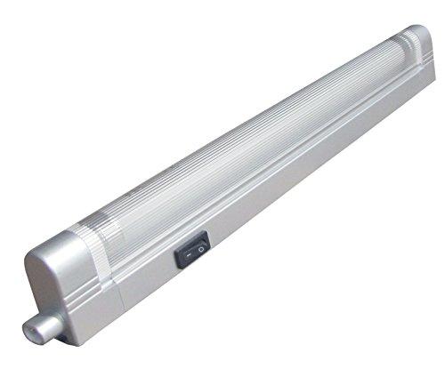 Tibelec 330340 Réglette Universelle à Economie d'Energie Argenté Plastique 8 W