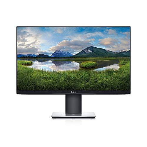 Dell P2419H, 24 Zoll, Full HD 1920x1080, 60 Hz, IPS entspiegelt, 16:9, 5 ms (extrem), höhenverstellbar/neigbar/drehbar, VESA, DisplayPort, HDMI, VGA, 3 Jahre Austauschservice, schwarz/silber