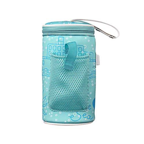 STOBOK Bolsa aquecedora de mamadeira USB para aquecer leite com isolamento térmico, garrafa de alimentação, aquecedor para viagens ao ar livre para casa
