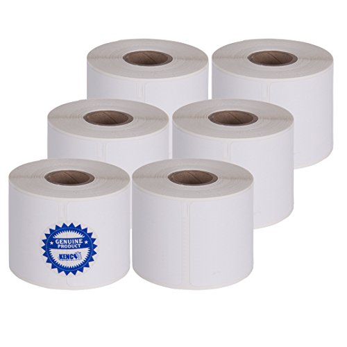 2 1/4in X 4in Name Badge Labels 250 Per Roll by Kenco Label, Compatible with Dymo 1760756 (1 Pack) (6 Pack)