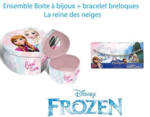 Boîte à bijoux La Reine des neiges