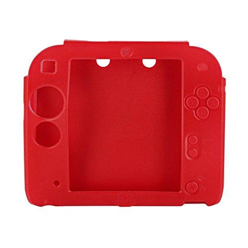 Demiawaking Coque de Protection en Gel Silicone Souple pour Nintendo 2DS