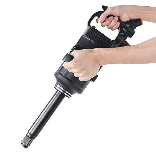 Llave de impacto ergonómica de agarre suave Llave de impacto neumática Fuerza de impacto de 3 niveles para reparar