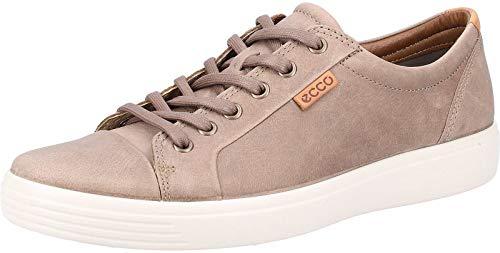 ECCO Men's Soft 7 Sneaker, navajo brown oil nubuck, 10-10.5