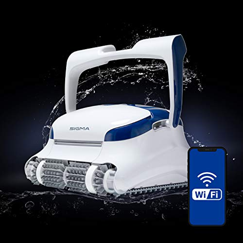 DOLPHIN Sigma Robotic Pool Cleaner with Bluetooth...