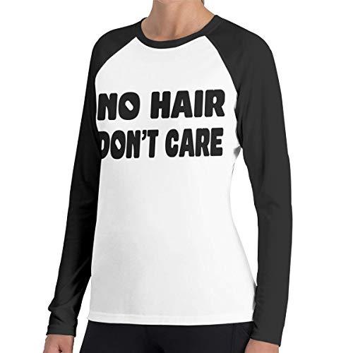 Geen Haar Niet Zorg Vrouwen Raglan Zachte Kleur Blok Baseball Lange Mouw Trui Tuniek Top T-Shirts Klassieke Blouses Top Tee