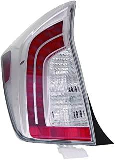 Go-Parts - OE Replacement for 2012 - 2015 Toyota Prius Rear Tail Light Lamp Assembly / Lens / Cover - Left (Driver) Side 81561-47190 TO2800189 Replacement For Toyota Prius