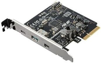 ASUS ThunderboltEX 3 - Tarjeta Expansión PCI express 3.0 x4 (Puerto Thunderbolt 3 / USB 3.1 tipo C, USB 3.1 tipo A, Mini DisplayPort IN)