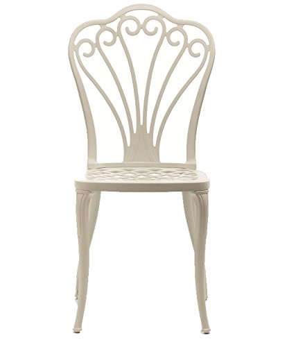 Fast Armonia Chaise en Aluminium Art.31 Couleur Blanc