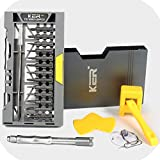 KER 36 in 1 Professional Screwdriver Set Magnetic Screwdriver Set For repairing Eyeglass, Glasses, iPhone, Tablet, Macbook, Xbox, Cellphone, PC, Game Console
